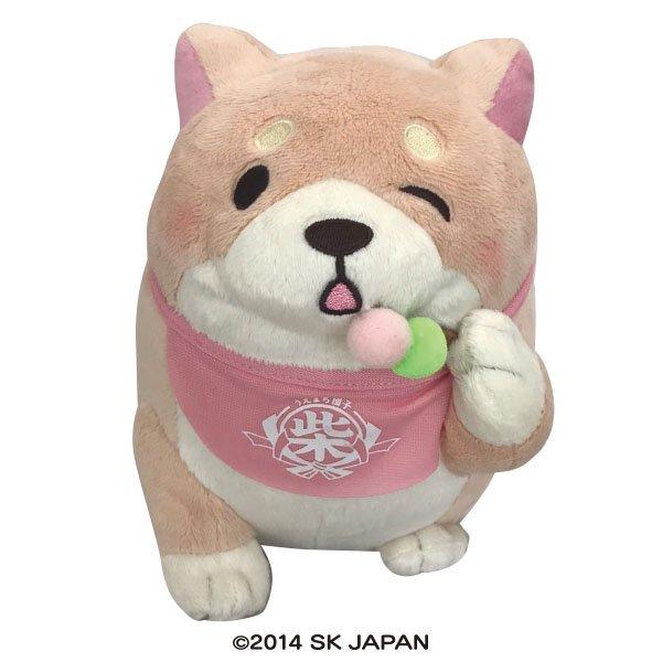 忠犬もちしば ぬいぐるみ Sサイズ(さくら 団子)