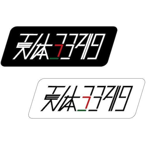 天体3349ロゴステッカー 大 ( 180mm x 62mm )