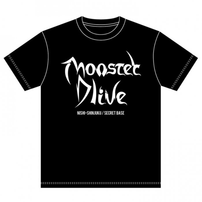 <img class='new_mark_img1' src='https://img.shop-pro.jp/img/new/icons15.gif' style='border:none;display:inline;margin:0px;padding:0px;width:auto;' />MONSTER DLIVE 8th Anniversary T-shirt
