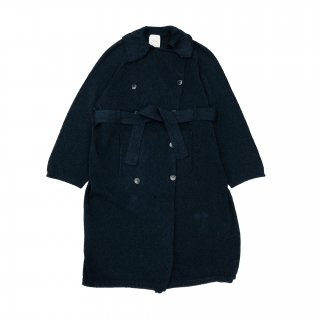Knitted Washi Trench Coat Exclucive for Lieu