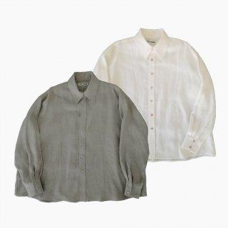 Linen over shirt