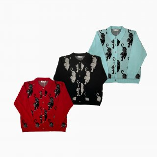 <img class='new_mark_img1' src='https://img.shop-pro.jp/img/new/icons1.gif' style='border:none;display:inline;margin:0px;padding:0px;width:auto;' />panther knit cardigan