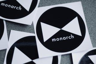 monarch ロゴマークステッカー