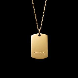 「JANTAG」Necklace  SV925 Gold Coating