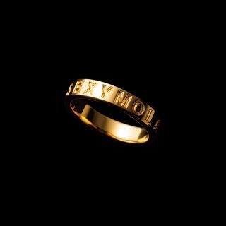 「SEXYMOLA」Ring  SV925 Gold Coating