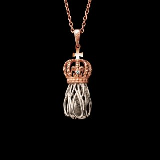 「LOS REYES」Necklace SV925 Pinkgold×Silver