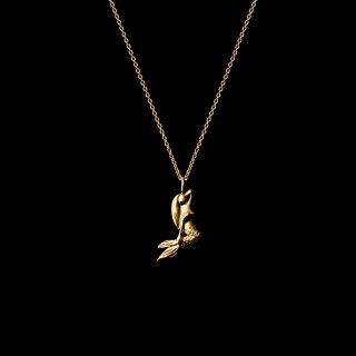 「MINI MERMAID」Necklace SV925 Gold Coating