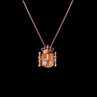 「MINI ESPANOLA 2020」Necklace SV925 Pinkgold Coating