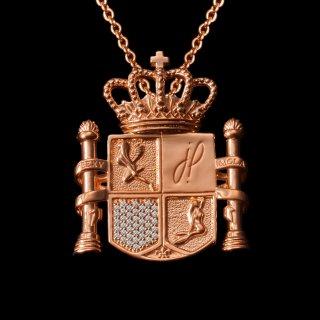 「ESPANOLA 2020」Necklace SV925 Pinkgold Coating