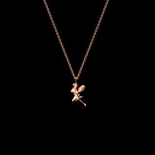 「MINIMINI FAIRY」Necklace SV925 Pinkgold Coating