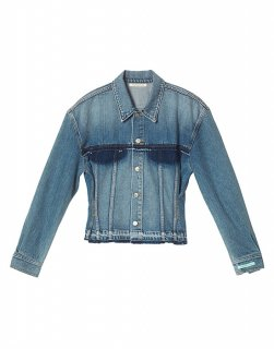 [25%OFF] Vintage denim trucker jacket