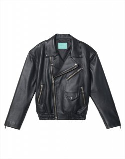 [30%OFF] Leather biker jacket