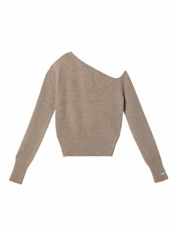 [20%OFF] One-shoulder sweater