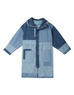 [韓国発送] 21SS Patchwork denim coat