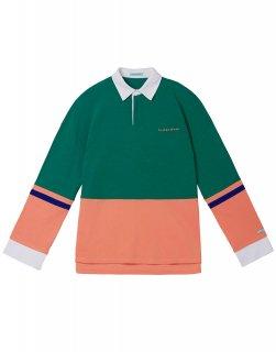 [韓国発送] 21SS Ms colour-block polo shirt
