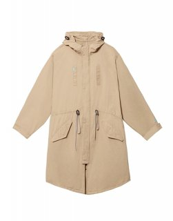 [韓国発送] 21SS Ms Washed cotton-blend fishtail coat