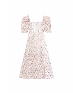 [韓国発送] 21SS Floral-print shirred maxi dress