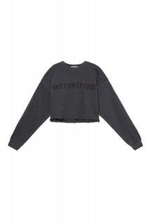 [韓国発送] 21SS Pigeudaing cropped sweatshirt