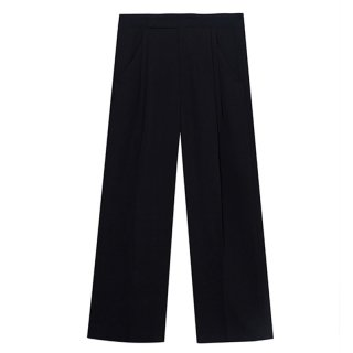 [20%OFF][韓国発送] 21SS Ms two-tuck wide-leg trousers
