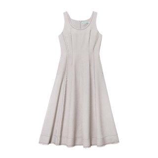 [韓国発送]  21SS Sleeveless flared maxi dress