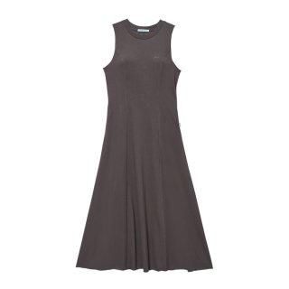[韓国発送]  21SS Sleeveless flared cotton maxi dress
