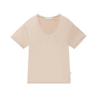 [韓国発送]  21SS U-neck basic T-shirt