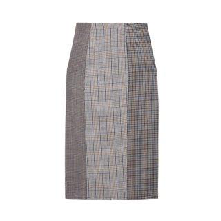 [韓国発送]  21SS Check mix skirt