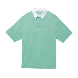 [韓国発送]  21SS Ms Logo-embroidered basic polo shirt