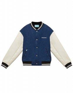 [韓国発送] 21FW Denim varsity jacket
