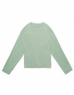 [韓国発送] 21FW Crew-neck mohair-blend top sweater