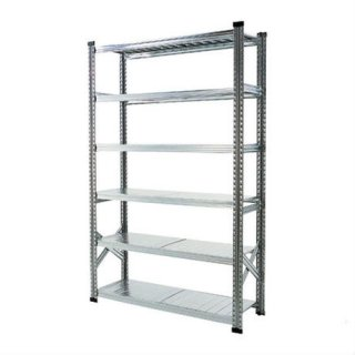 【METALSISTEM】6TIER STEEL SHELF W900