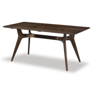 【SQUARE ROOTS】KIRI DINING TABLE /SEARED OAK BRONZE