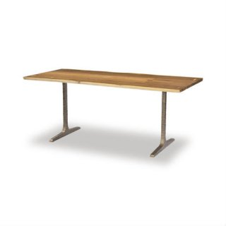 【SQUARE ROOTS】T LEG DINING TABLE /SMOKED OAK BRONZE