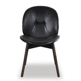 【SQUARE ROOTS】PACHA CHAIR /BLACK LEATHER