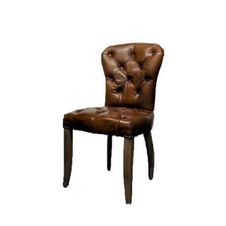 【HALO】CHESTER CHAIR /WEATHERED OAK LEG ANTIQUE WHISKY