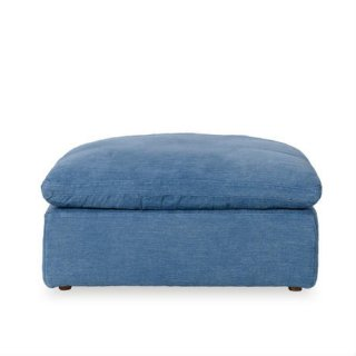 【NOBLE SOULS 】LUSCIOUS FOOT STOOL OLD LOOM OCEAN