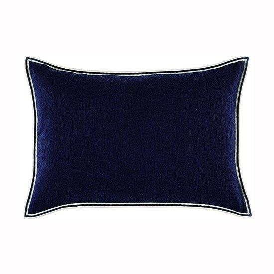 【ASPLUND】ELITIS CUSHION / PHILIA Bleu encre 40×55