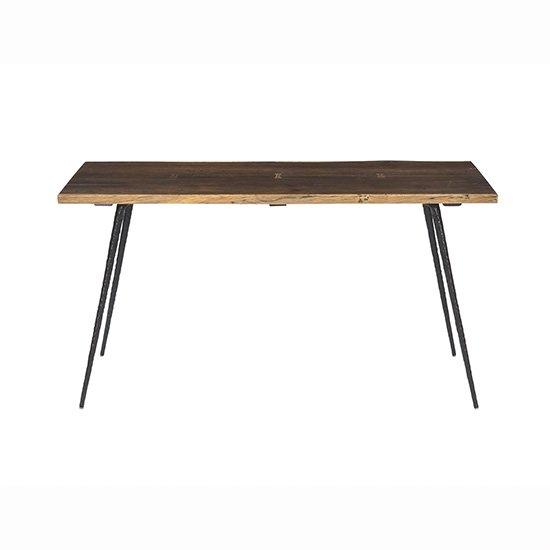 【SQUARE ROOTS】NEXA DINING TABLE1600 /SEARED OAK BK LEG