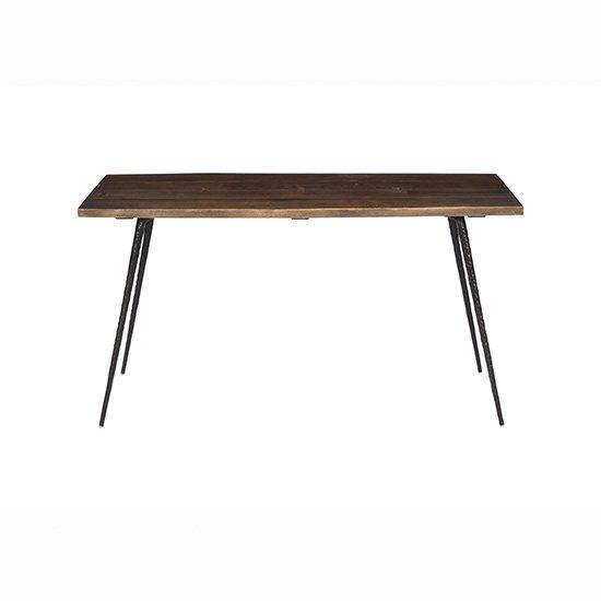 【SQUARE ROOTS】NEXA DINING TABLE1400 /SEARED OAK BK LEG