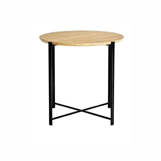 【SQUARE ROOTS】QUATTRO END TABLE /RAW OAK
