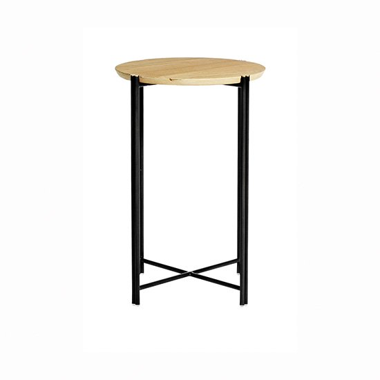 【SQUARE ROOTS】QUATTRO OCCASIONAL TABLE /RAW OAK