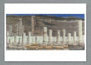 [絵はがき]古代ローマの遺跡 エフェソストルコ(右)