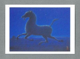[絵はがき]西域の馬