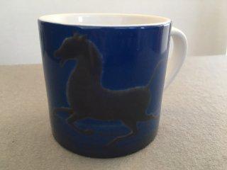 マグカップ(小)西域の馬