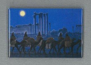 [アートマグネット]パルミラ遺跡を行く(夜)横