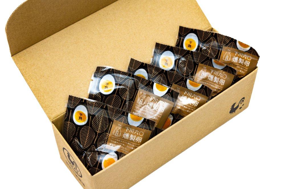 半熟!下川六〇燻製卵5個