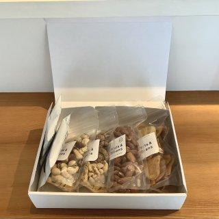 Nuts&Beans ベーシックギフトボックス ナッツとコーヒー6点セット(数量限定)