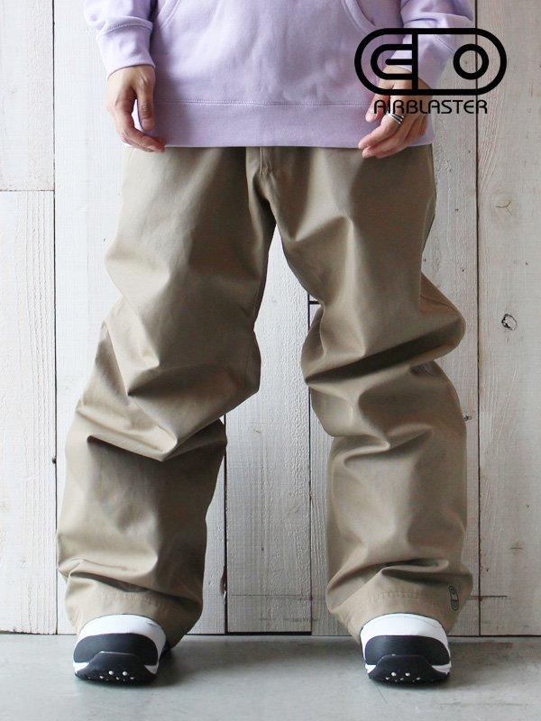 19/20モデル REVERT PANT #Khaki [AB20MP5_122]