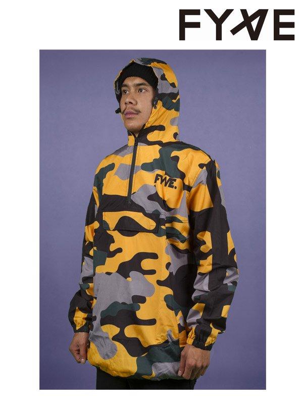 19/20モデル Spray Jacket #Yellow Camo