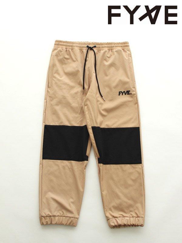19/20モデル Knees Pants #Tan with Black